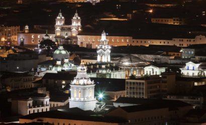 Quito night Ecuador